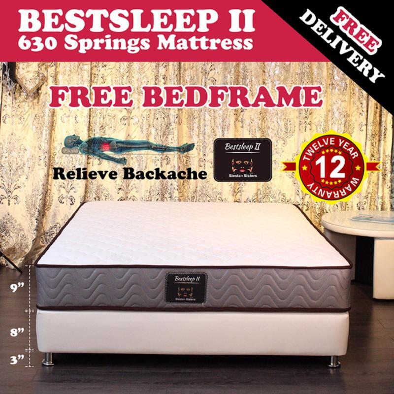 9 inch Bestsleep 2 Mattress with free bedframe