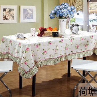 A Clearance Cotton Print Tablecloth Cloth Rectangular Garden Small Cover Living Room Coffee