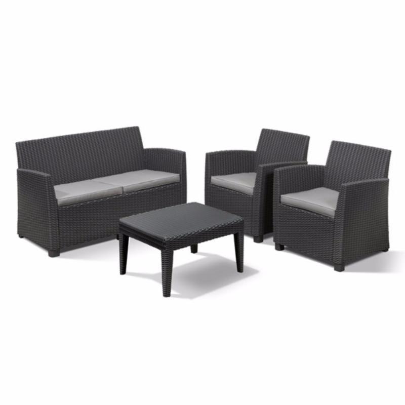 Allibert Corona Outdoor Sofa Set