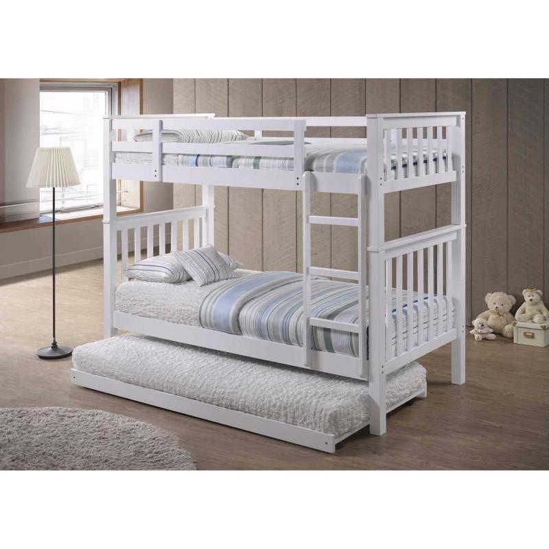 Amour Detachable Bunk Bed With Pull-out Bed 10 years warranty