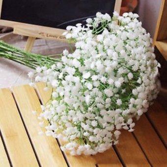 Artificial Gypsophila Silk Flower Party Wedding Decoration - intl - 3
