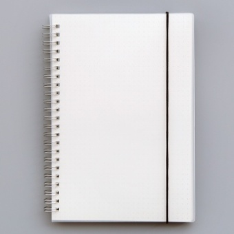 B5 simple blank grid mesh notes BENSE.O coil notebook