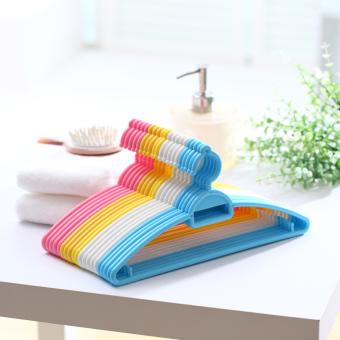Baby baby color multi-function children's hanger