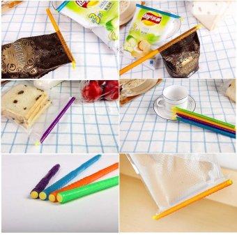 Bag Clip Plastic Sealing Bar Bag Seal FoodStorage(12cm*3+19cm*3+23cm*3+29cm*3 ) - 5