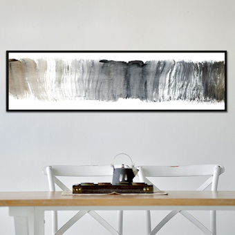 Banner Bedside Decorative Painting Modern Minimalist Living Room Sofa  Background Wall Painting Hotel Long Abstract Paintings Part 39