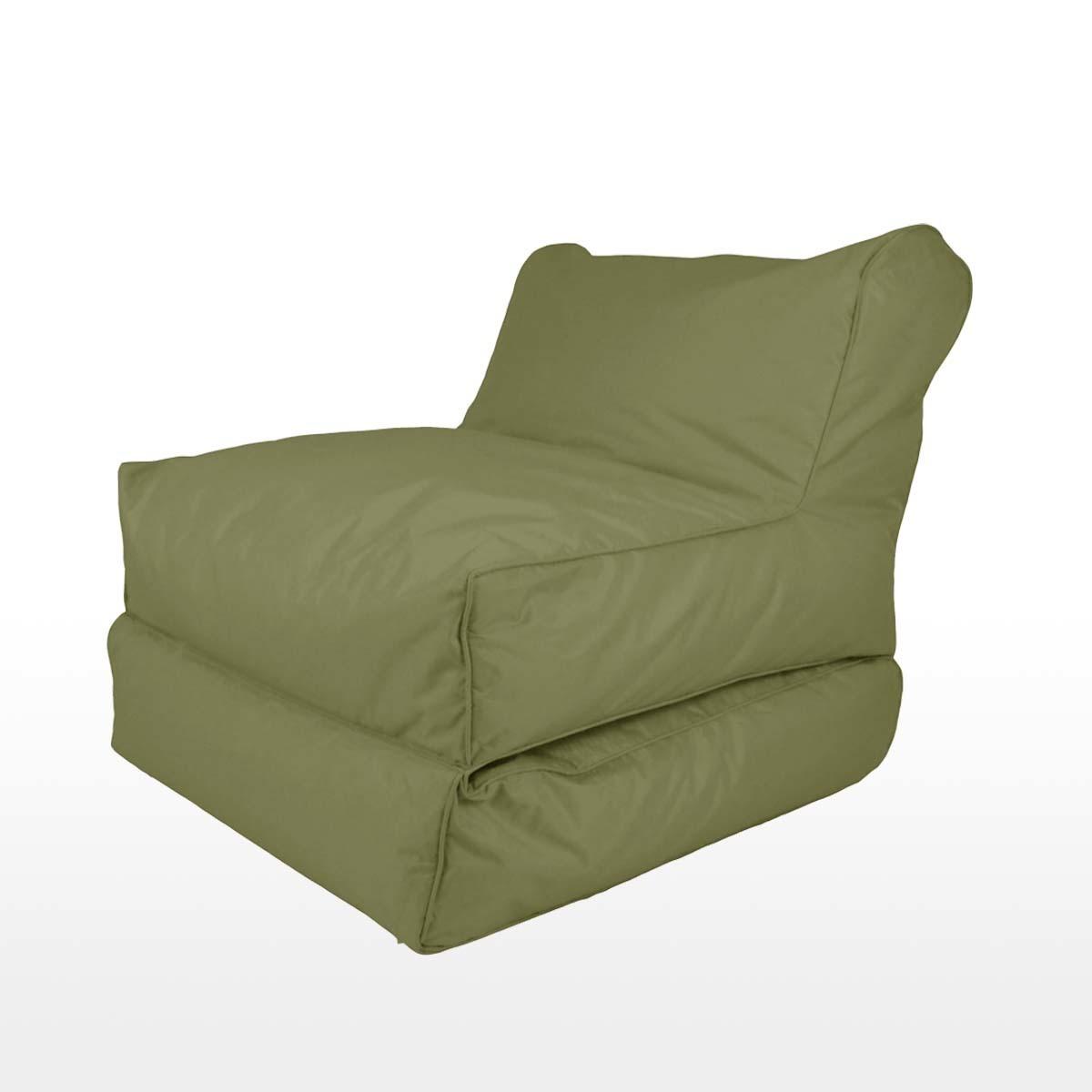 BeanBag Sofa Bed Grey