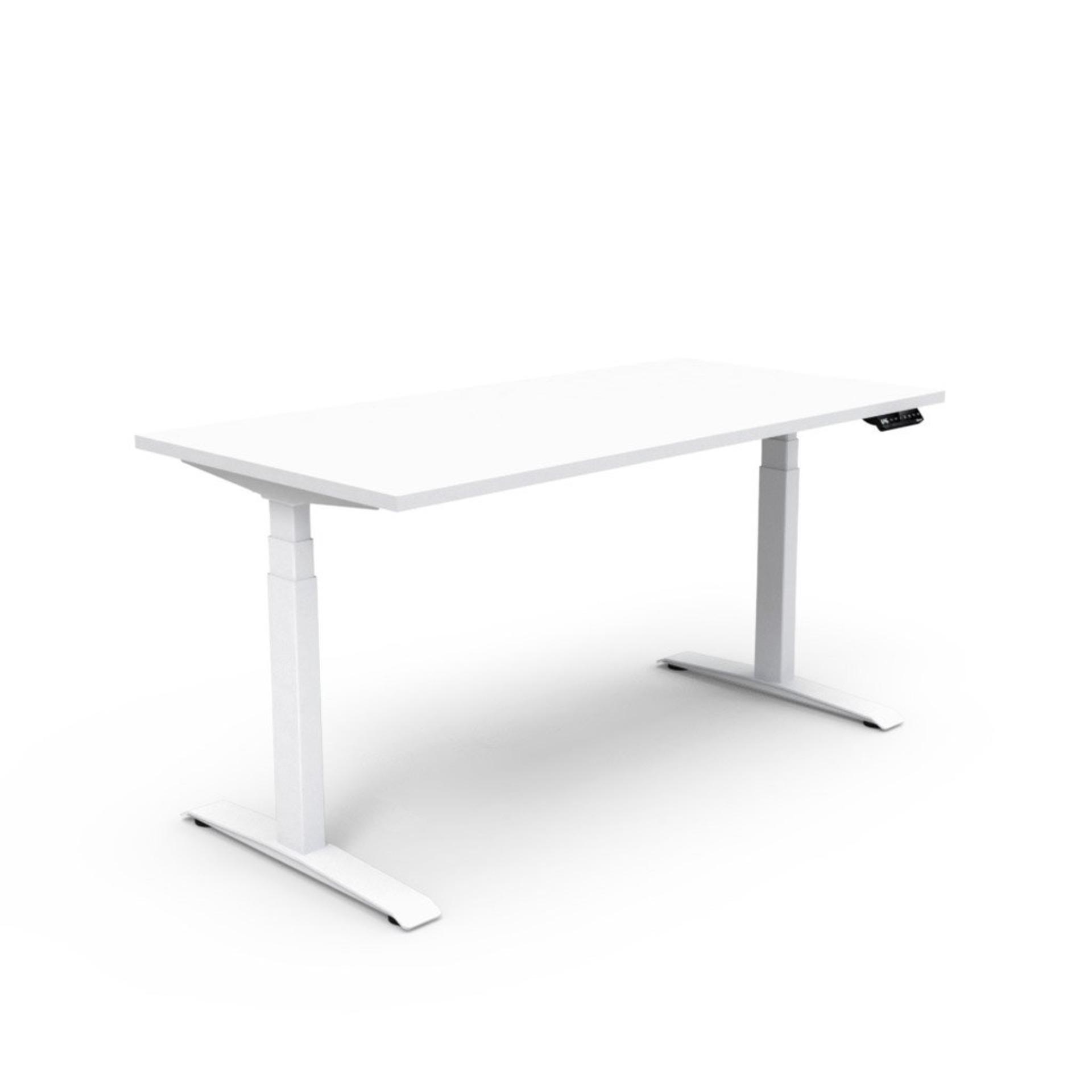 Beautiful Benel Adjust Rectangular Height Adjustable Table (75cm X 120cm) Singapore