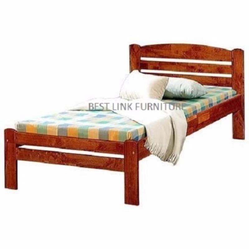 BEST LINK FURNITURE BLF 28 Bed Frame (Super Single / Cherry)