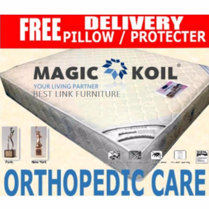 BEST LINK FURNITURE Magic Koil Orthopedic Care Pocketed Spring Mattress (Super Single)