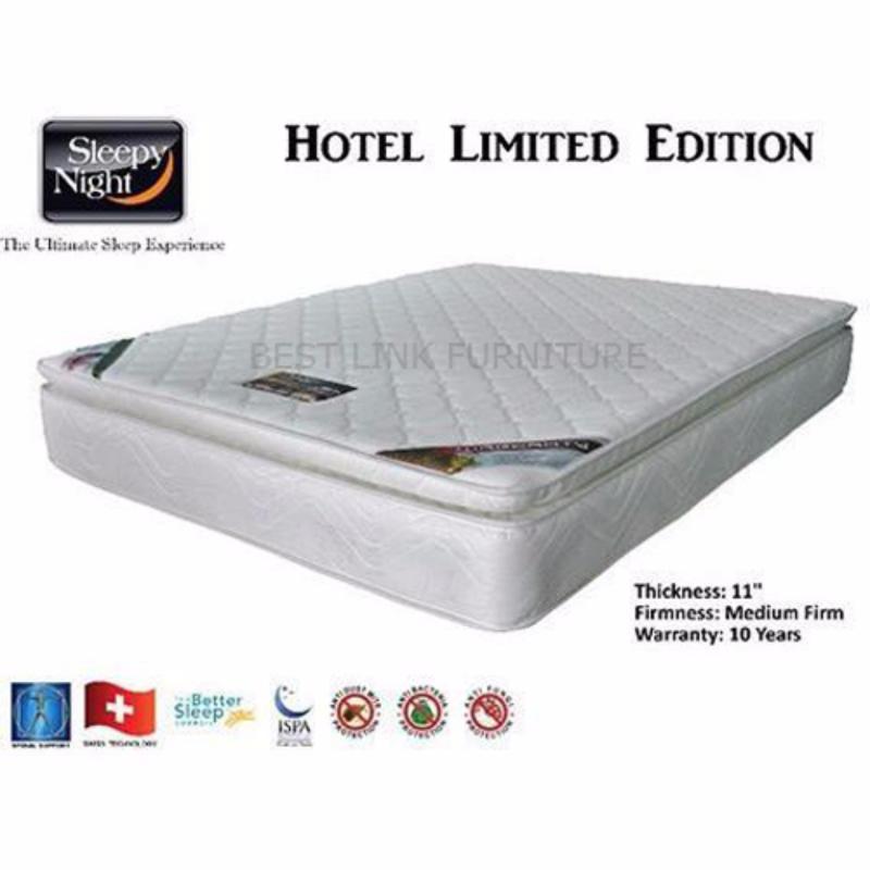 BEST LINK FURNITURE Sleepy Night Hotel Limited Edition Spring Mattress (King)