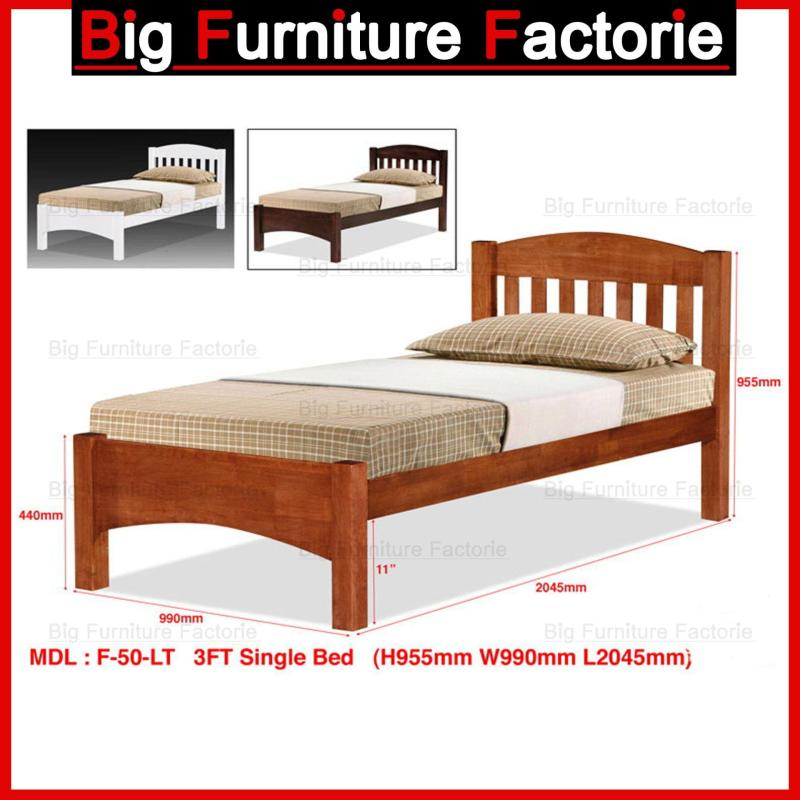 BFF-50-WB Solid Wooden Bed with Pull Out Bed