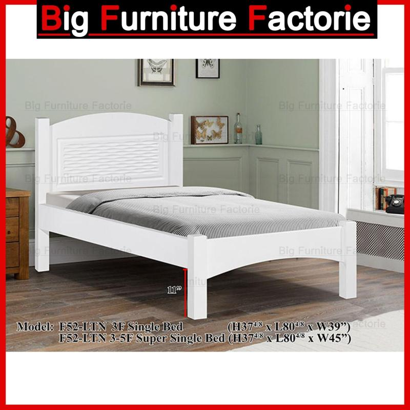 BFF-52-WB Solid Wooden Bed