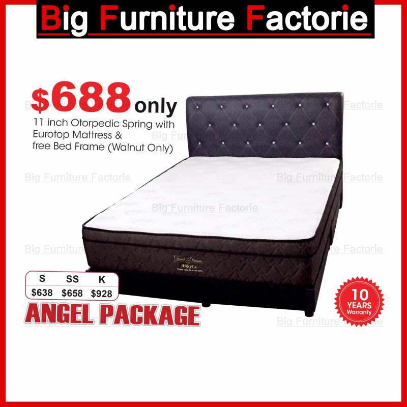 BFF-Kingsbed-Orthopedic Spring with Eurotop Mattress Package