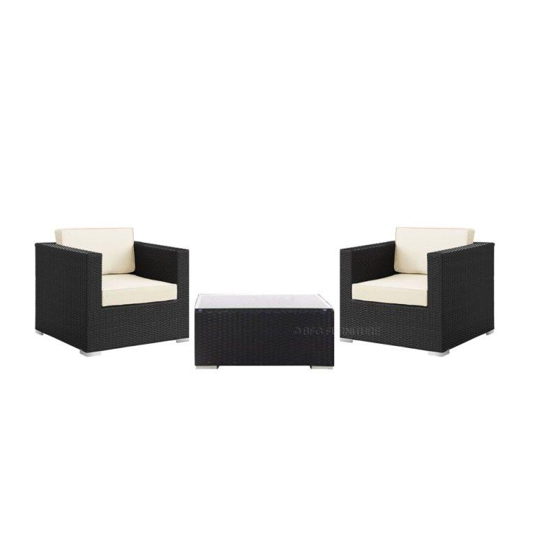 BFG Furniture Vanda 3 Piece Outdoor Set