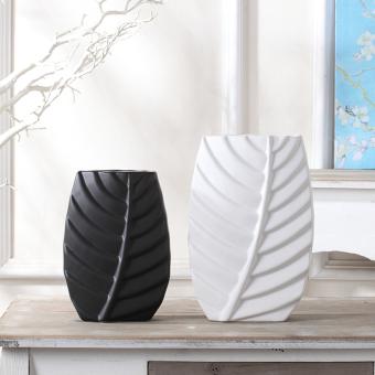 Black White Ceramic Vase Ornaments Nordic Style Minimalist Modern Home Living Room TV Cabinet Desktop Decorative