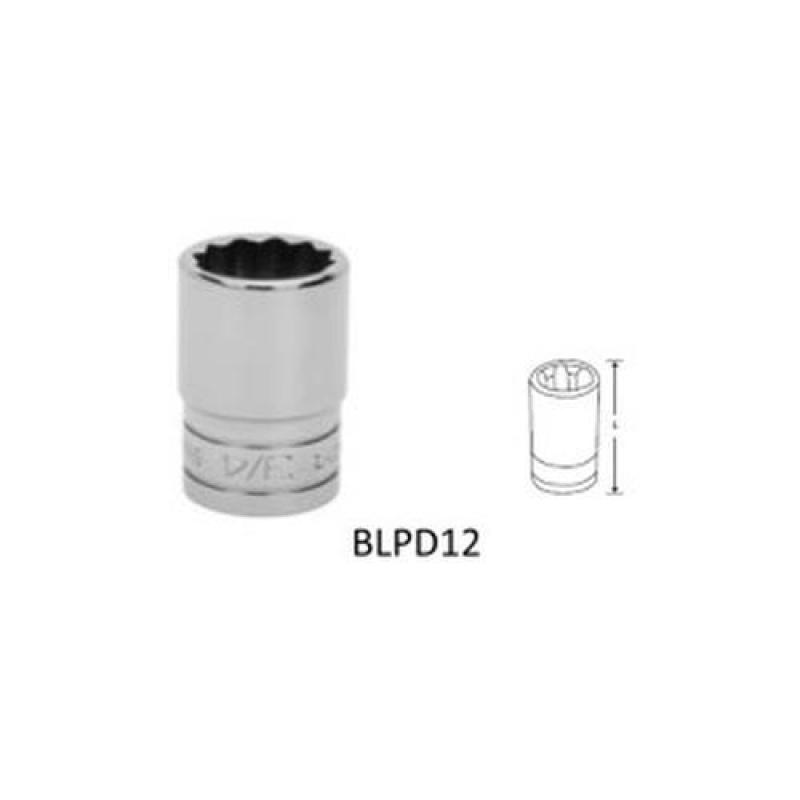 "BluePoint 1/2"" Double Hex Socket, Inches [BLPD12]"