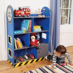 Car Racer Book Shelf