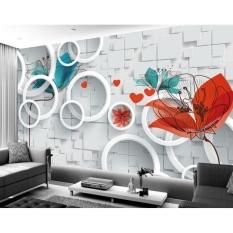 Brick 3d Wallpaper Flower 3d Murals Wallpaper For Living Room 3d