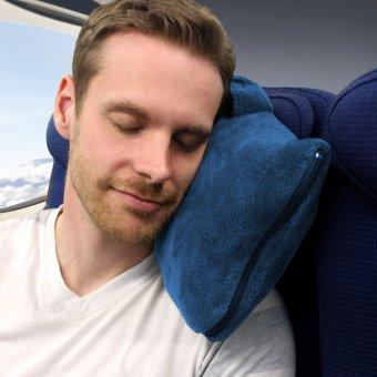 Cabeau Fold 'n Go Blanket and Case(TM) (Cabeau Blue) - 5