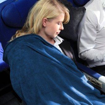 Cabeau Fold 'n Go Blanket and Case(TM) (Cabeau Blue) - 3
