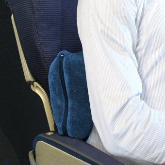 Cabeau Fold 'n Go Blanket and Case(TM) (Cabeau Blue) - 4