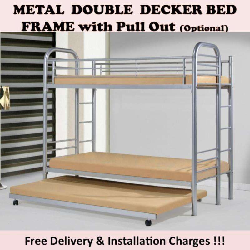 CANDY Double Decker Bed with 2 Plywood