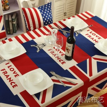Canvas Table Cloth Classic M Word Flag British Flag Desk Creative  Tablecloth Living Room Coffee Table Part 53