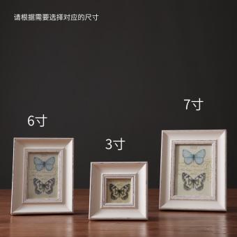 Chung Si Edge American Modern Minimalist Living Room Bedroom Bedside Cabinet Model White Wood Frame
