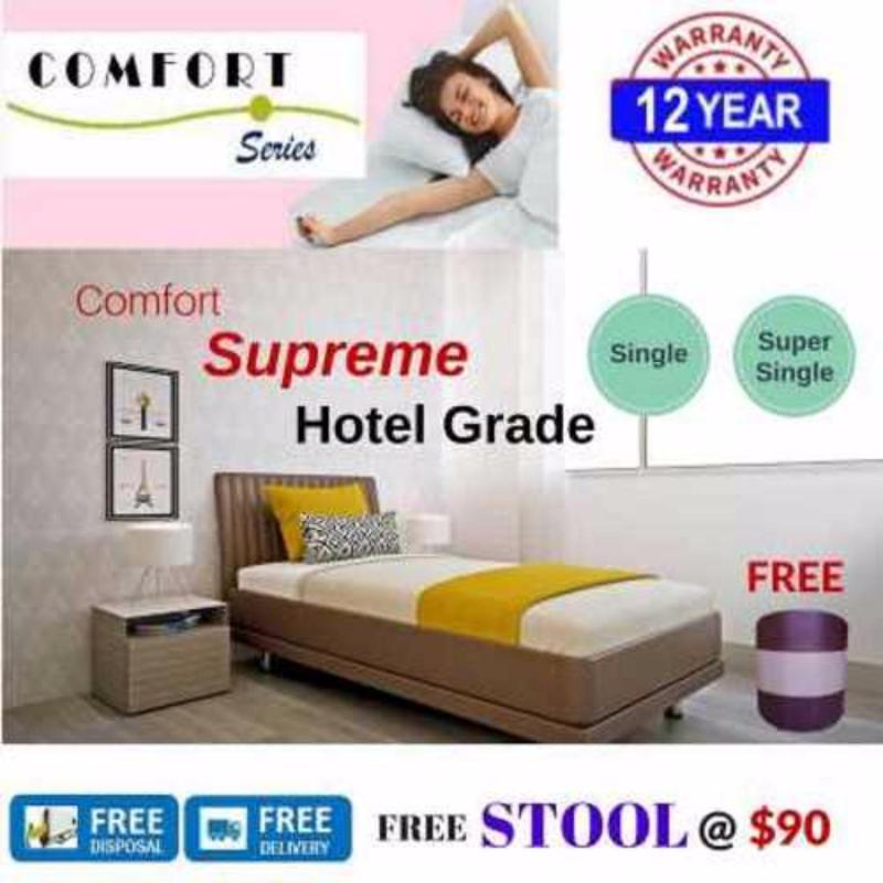 Comfort Supreme 6in Spring Mattress (Single)