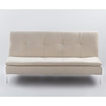 Cozy 3 seater sofa bed white yz104 lazada singapore for Sofa bed lazada