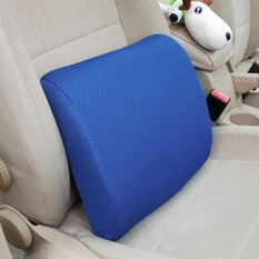 Cyber Big Discount New Lumbar Cushion Back Support Memory Foam Travel Car Seat Home Office Chair Pillow( #2 ) - intl