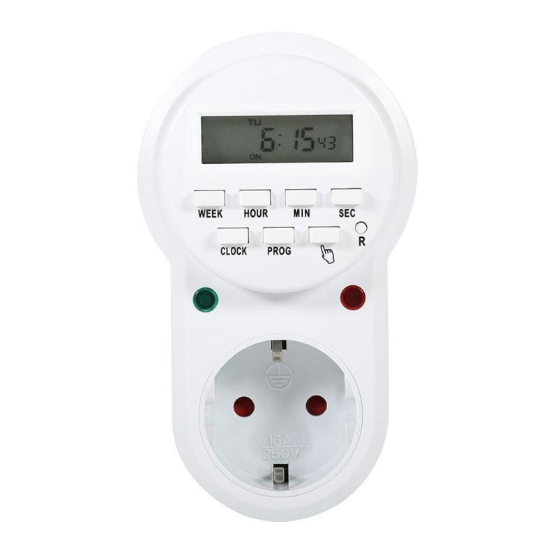 Digital Electronic Programmable Timer Switch Socket EU - intl