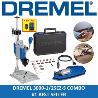Dremel 3000-1/25EZ-S Multitool Workstation Combo