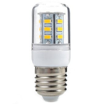 Harga E27 LED Corn Light 3W 300LM 24 SMD-5730 3000K (WARM WHITE LIGHT)(EXPORT)