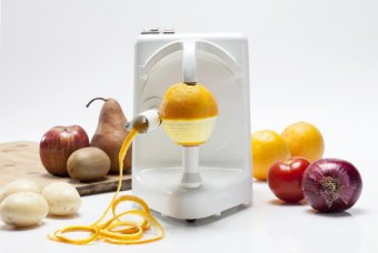 Electric Peeler, Peel Master by Pelamatic (White) - 3