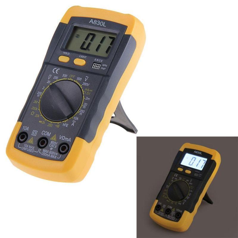Electrical LCD Digital Multimeter AC DC Voltmeter Ohmmeter Multitester