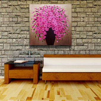 taobao painting flowers single wall decorative flowers single