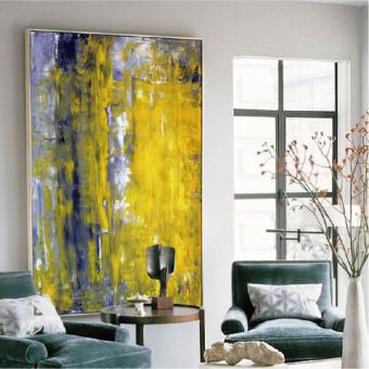 Entrance Decorative Painting Abstract Large Size Block Meter Box Painting  Mural Paintings Oil Painting Modern Living Part 97
