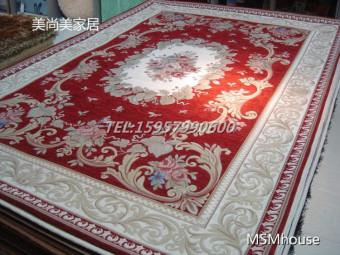 European Carpet Living Room Coffee Table Mat Bedroom Bedside Blanket Sofa Fabric Rectangular Entrance