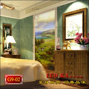 European Fabric Decoration Feng Shui Transporter Curtain Bathroom Bedroom Living Room Kitchen Entrance Halfcurtain Japanese Cut