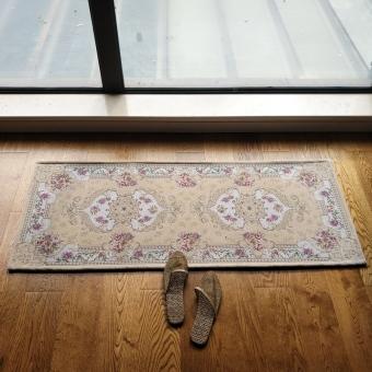 European Fabric Kitchen Absorbent Mats Nonslip Mats Bedroom Bedside Blanket Living  Room Floor Mats Bathroom Mats Part 83