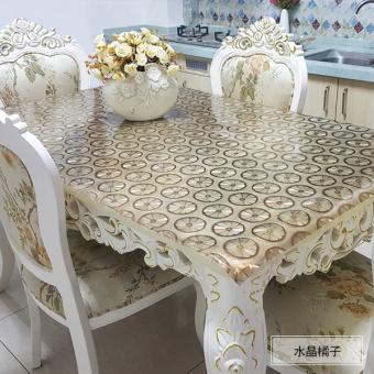 Garden PVC Soft Glass Table Cloth Tablecloth