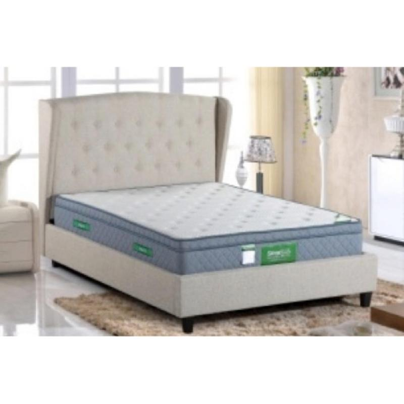 Gemini BF301 Bedframe Queen with Storage (Beige)