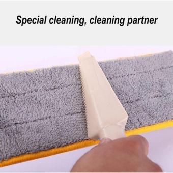 HappyLife Lazy Hand Wash-Free Flat Mop Hands-Free Washable MopWashingfloor Double-Side Beige - intl - 3