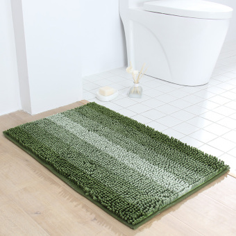 HD chenille absorbent mats bathroom non-slip mat door into the household door mat bathroom toilet bathroom mats