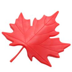 HengSong Maple Leaf Shape Safety Door Stopper (Red)