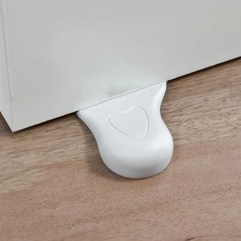 Hequ Kids Baby Foot Design Door Stop Wedge Jammer Doorstop StopperHome Decor - 4