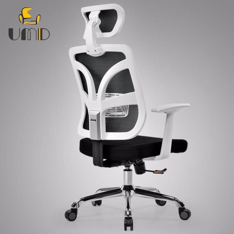 High Back Mesh Ergonomic Office Chair Computer Chair ( Q37 White Frame ) Singapore