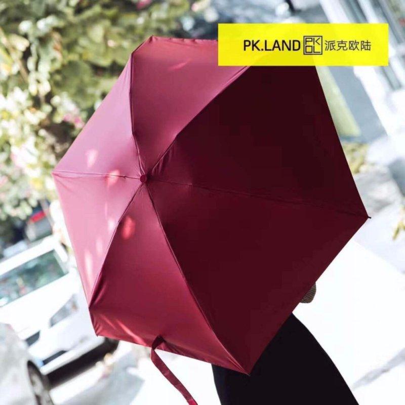 High-Quality Dual-Use Umbrella for Rain and Sun Mini Pocket - intl