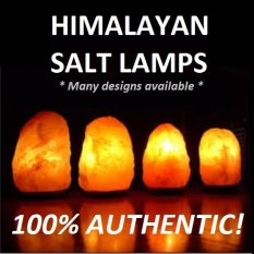 Himalayan Salt Lamp 2 to 3kg with Marble Base / Air Purifier / Humidifier / Ionizer / Negative Ion / Mask Singapore
